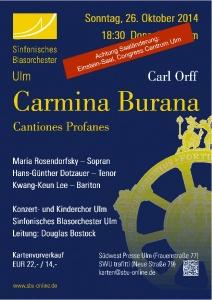 Carmina Burana 2014